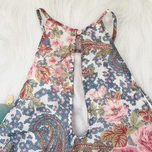 Show Me Your MuMu Dresses - Show Me Your Mumu Gomez paisley halter mini dress